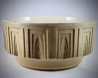 Vintage Haeger Ceramic Bowl Mid Century