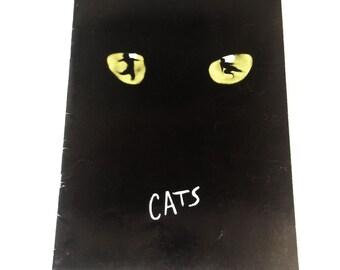 Cats Souvenir Touring Brochure and Cast Program