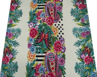 Butterfly Printed Cotton Fabric Decorative Craft Material Multicolor Sewing Fabric Dressmaking Material Apparel Sew Fabric By 1 Yard ZBC3290