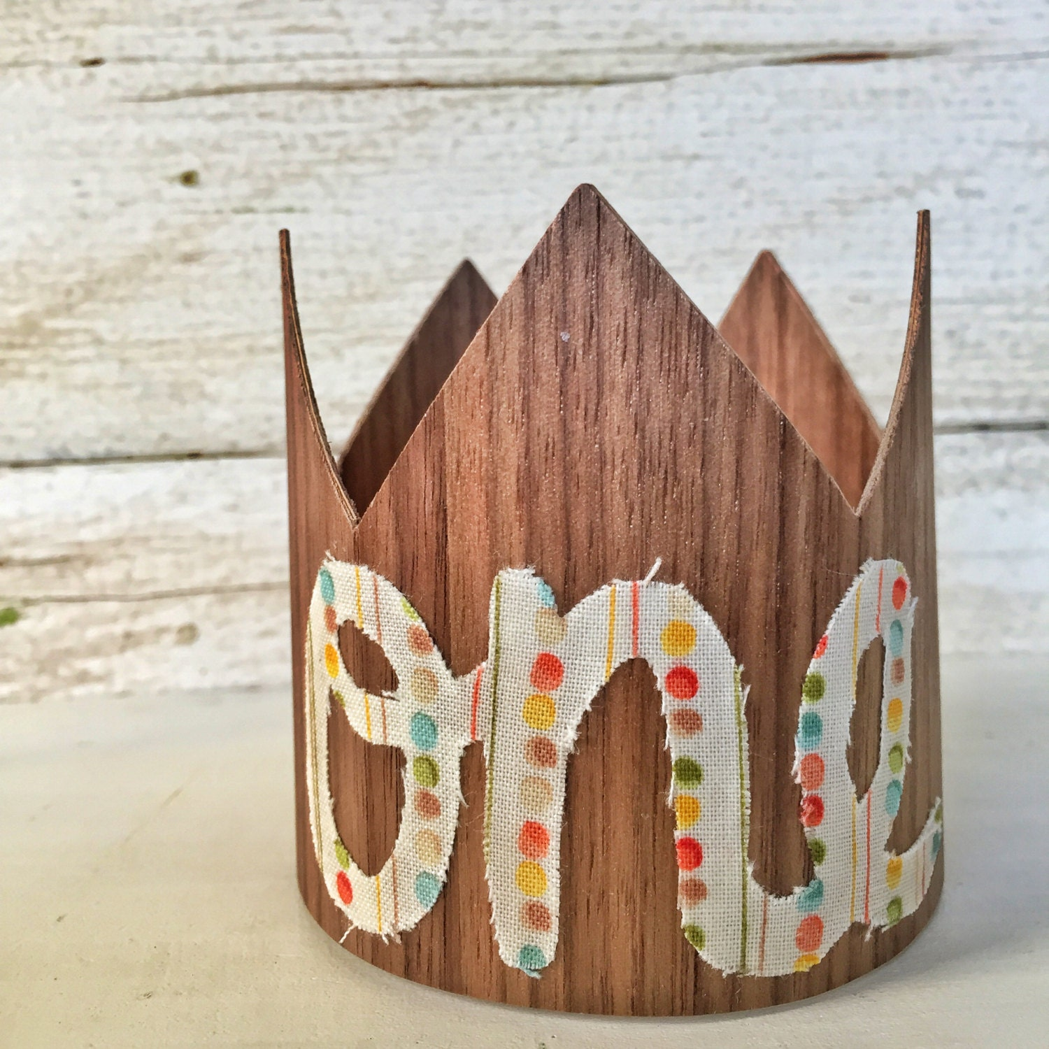 First Birthday Boy Crown Party Hat Boy First By FetesAndFables