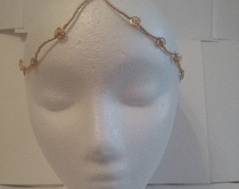 Fashionable Gold Headband