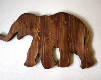 Elephant wall decor, elephant decor, nursery decor, elephant home decor, animal nursery