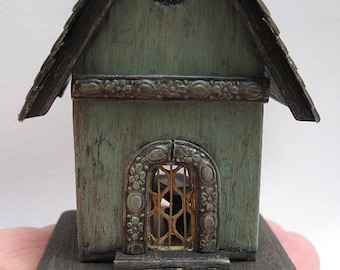 Scale 1/144eme small furnished house