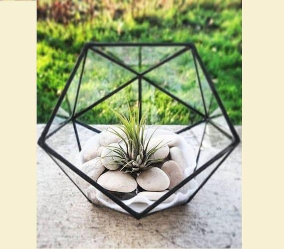 petit terrarium vitrail par amentya sur etsy. Black Bedroom Furniture Sets. Home Design Ideas