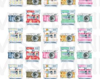 Vintage Camera Stickers!