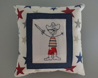 Pirate Star Tooth Cushion