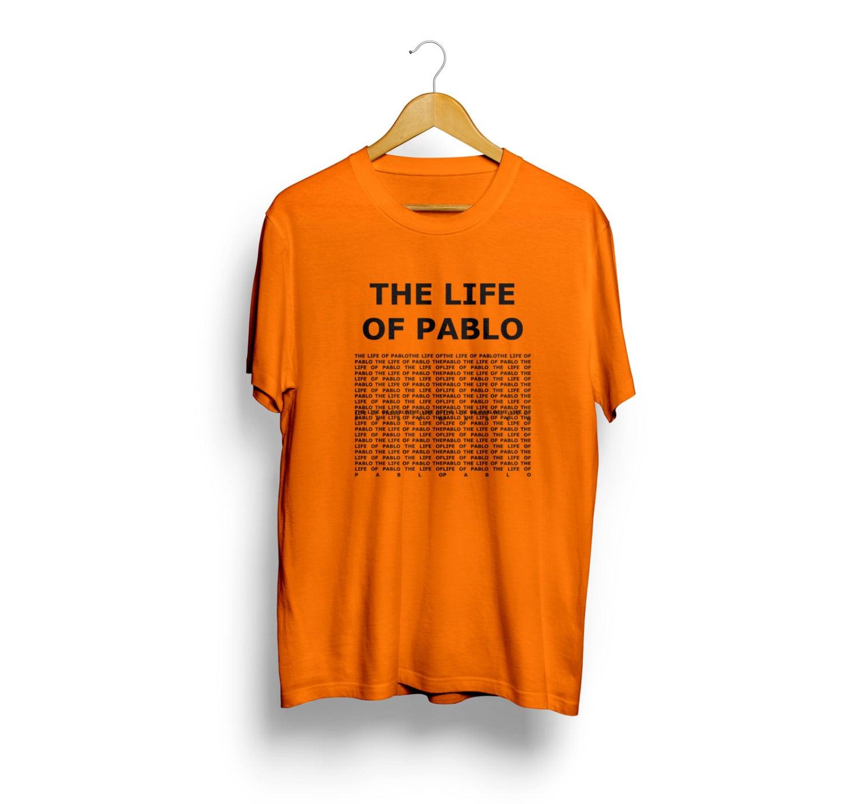 The life of pablo kanye west tshirt kanye new album shirt for Life of pablo merch