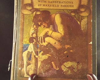 Poems of Childhood with Maxfield Parrish Illustrations