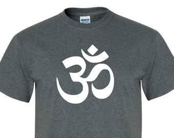 AUM OM Tee SHIRT great as a gift for Men, women, and children!! tee006