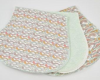 Burp Cloths - Burp Cloths Girl - Burp Cloth Set - Baby Shower Gift - Baby Girl - New Baby Gift - Baby Gift - Baby