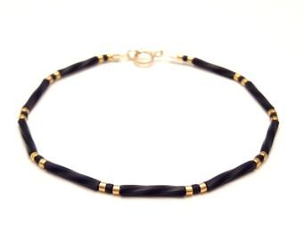 14k Gold Filled Bracelet Tiny Bracelet Thin Gold Bracelet Minimalist Bracelet