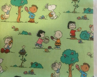 A Charlie Brown Easter fabric 2003