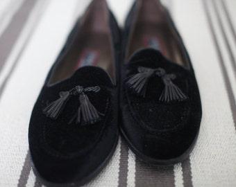 Vintage Velvet Cole Haan Loafers (Women's size 10)