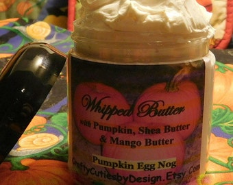 Pumpkin Delight - Whipped Shea & Mango Body Butter - 4 oz or 8 oz - Nourishing Pumpkin Seed Oil