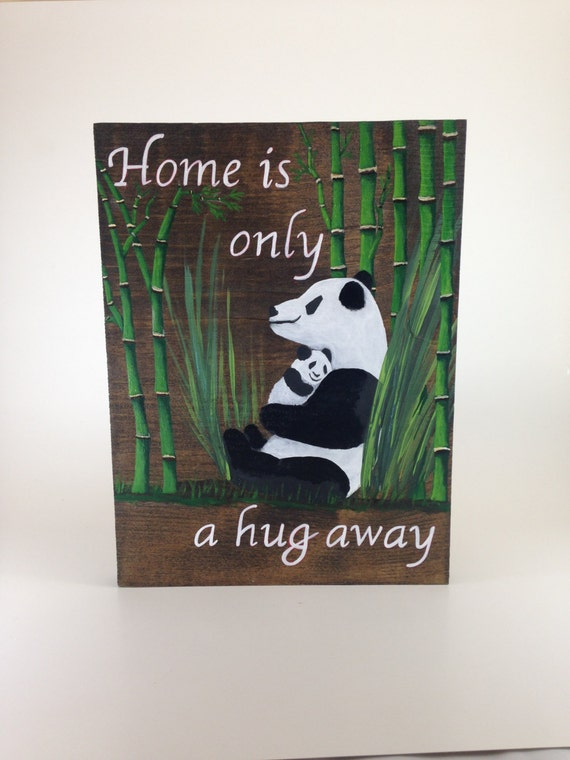 Items similar to mother 39 s day nursery decor baby shower for Panda bear decor