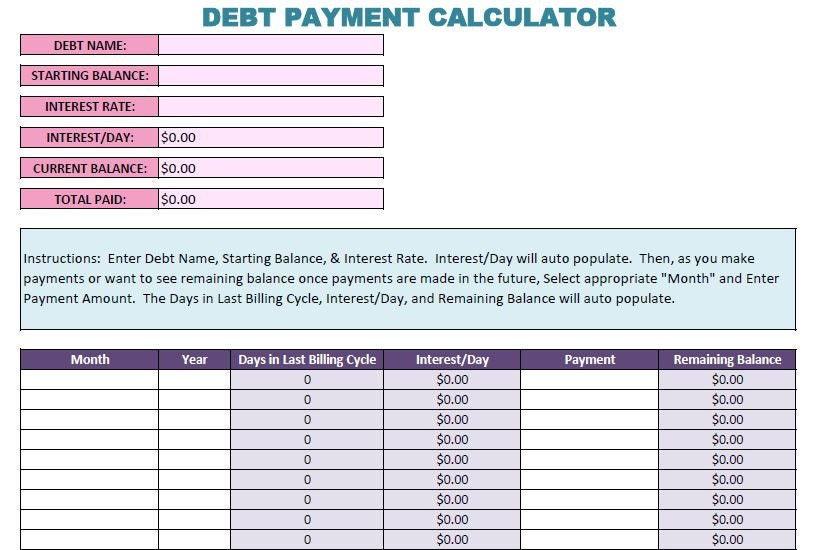 New & Improved Debt Snowball Calculator. Thank You Notes Wedding Template. Invoicing Templates Picture. Sample Of Business Proposal Sample Letter. Sample Accounts Payable Resumes Template. Sample Resume Of Driver Template. Employment Verification Form Template. Status Update Template. West Marine Customer Service Template