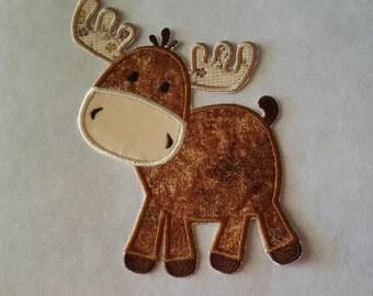 Iron On Applique Moose