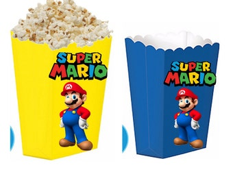 Super mario treat boxes