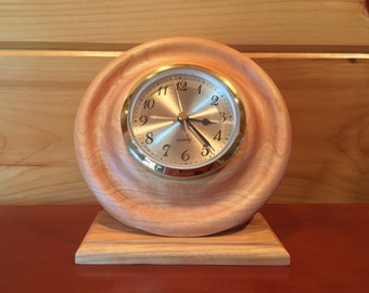 Cherry clock, Table clock, Desk clock, Decorative clock, A Great gift
