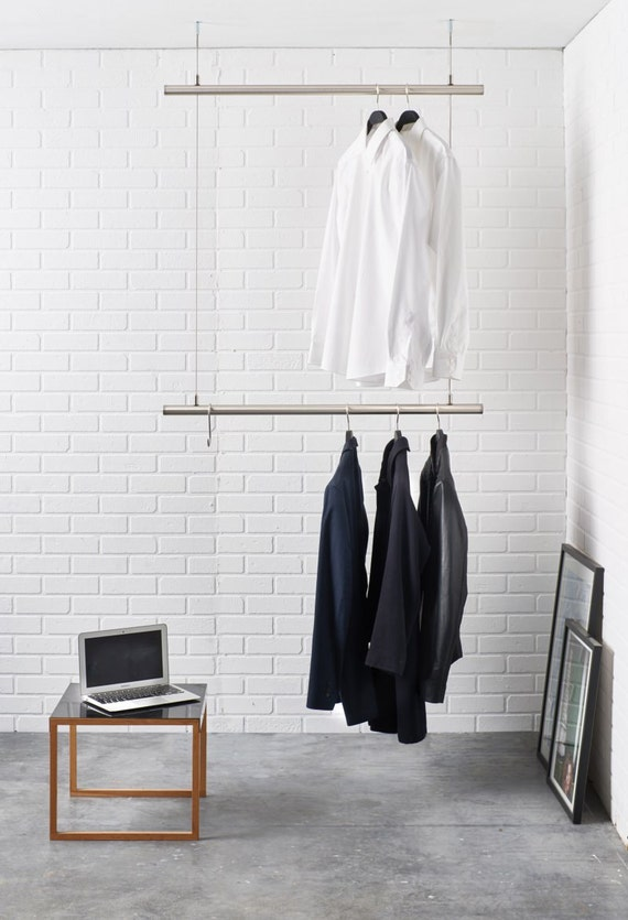 hanging clothes rack hanging clothes rack ceiling mounted design clothes rail in 10440