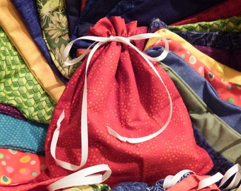 Hand Sewn Fabric Bags
