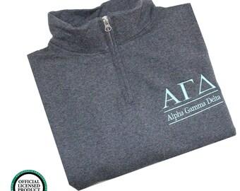 alpha gamma delta quarter zip pullover alpha gamma delta cadet jacket alpha gamma delta sorority letters alpha gamma delta sweatshirt