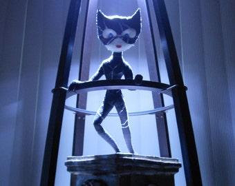 Batman Returns (1992) Inspired Catwoman Felt Doll