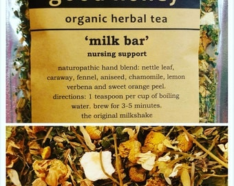 Milk Bar (nursing tea) - Organic herbal tea