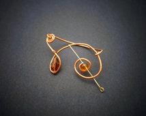 Original ear cuff, Vegetal-steampunk ear cuff, Sylphe d'Automne