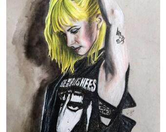 Hayley Williams - colored pencil