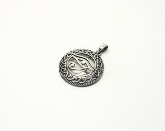 Horusauge Udjat eye size Udzat-eye Silver 925