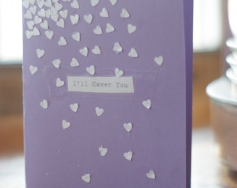 "Greeting Card ""I'll Cover You"" RENT lyrics"
