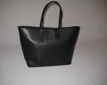 Saffiano Leather handbag, Made in Italy