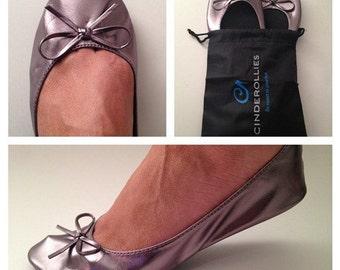 Cinderollies Rollable Ballet Flats, Foldable Flats, Fold-Up Ballet Flats, Roll-Up Flats, Ballet Slippers, Ballet Flats, Foldup Flats, flats
