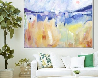 Abstract Art,  Abstract Painting, Original Artwork, Abstract Landscape,  Large Wall Art,  Canvas Painting,  Contemporary Art