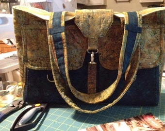 Quilted Carry On Bag