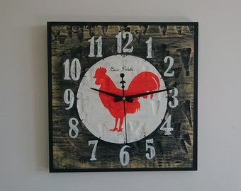 Clock for wall made hand Ref: 009