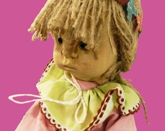 Collectible handmade doll Sandra