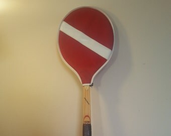 Tennis Racquet Cragin-Simplex Pro-Bat Custom Finished