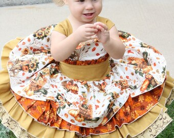 Baby Girl Special occasion tiered dress