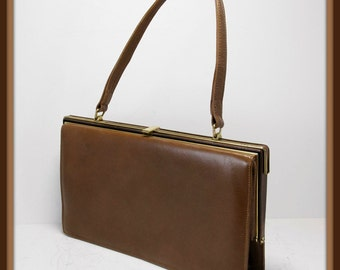 Vintage Leather Handbag, Vintage Handbag, Vintage Nicholas Reich Handbag, Vintage Reich Handbag, Vintage Reich Leather Handbag, Vintage Bag