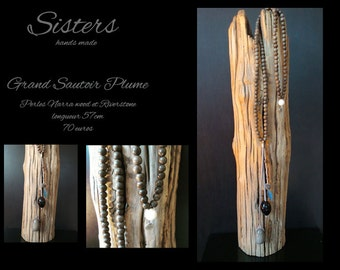 Great necklace sold feather!