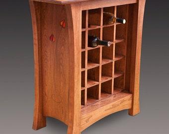 Glasgow Rosebud Wine Cabinet