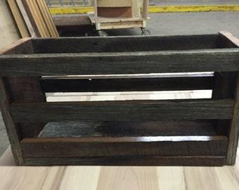 Barn Wood Crate