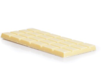 White chocolate tablet, white chocolate bar, white chocolate, house charming gift, fine chocolate, fine white chocolate bar, white chocolate
