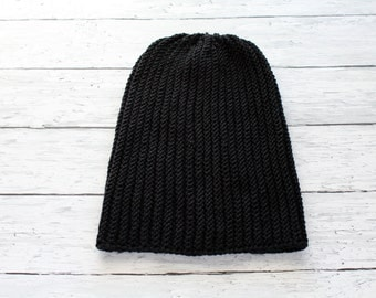 Mens Hat | Oversize Guys Hats | Slouchy Beanie | Hat For Men And Women | Knitted Fall Winter Accessories