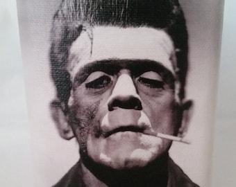 Rockabilly Greaser Frankenstein Flask