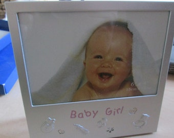Baby Girl Photo Frame. Never used, Still in it's original box