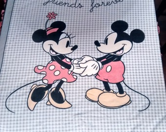 SALE***Mickey & Minnie Mouse Fleece