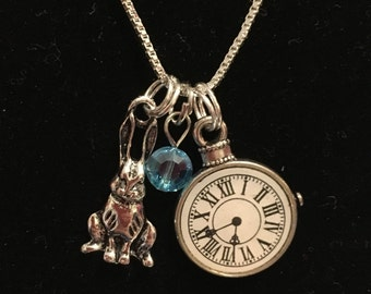 Alice (in Wonderland) Inspired Necklace